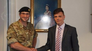 Teenager to join the British Army on his 18th birthday