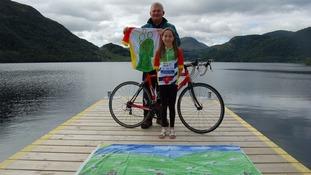 Cumbrian children design Tour of Britain flag and jersey