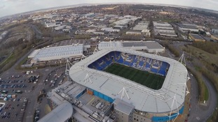 The Madejski Stadium in Reading
