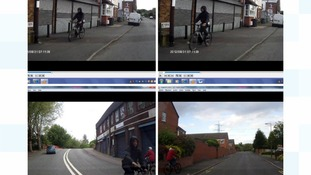 Police have released dash cam images after two boys had their bikes stolen in Tipton