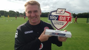 Walsall boss Dean Smith awarded Manager of the Month