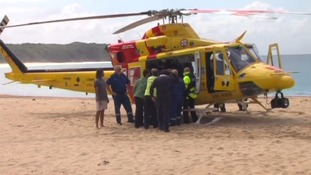 Shark attacks 65-year-old man leaving him with serious leg injuries