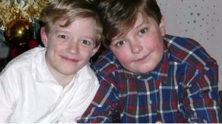 Paul (left) and Jack died when their father set fire to his house with the boys locked inside