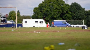 School faces clean up after travellers leave sports pitches with 'rubbish everywhere'