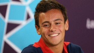 Best wishes from Plymouth College ahead of Tom Daley's Contest