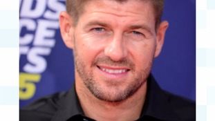 Steven Gerrard loving his 'Z-list' status