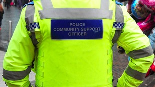 A PCSO is a uniformed civilian member of police support staff