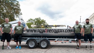 Nigel Rogoff is part of the 'Row2Recovery' team that will row the 3,000 mile race