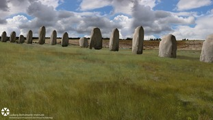 'Extraordinary' huge stone monument found buried near Stonehenge