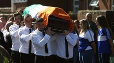 Kevin McGuigan was shot at point blank range in what is thought to be a revenge attack.