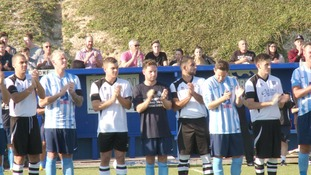 Applause for Shoreham victims