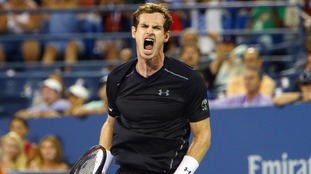 Murray was beaten in four sets.