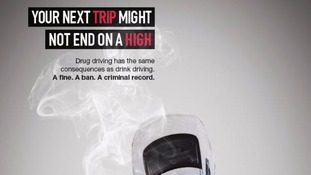 South Yorkshire Police anti-drug driving poster