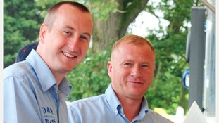 Soap stars Andy Whyment & Steven Arnold
