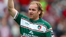 Andy Goode during his second stint at Leicester Tigers