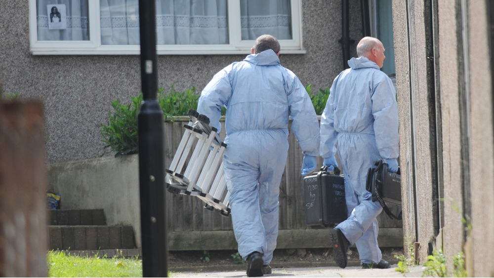 Detailed forensic search continues at home of tia 39 s for Detailed home search