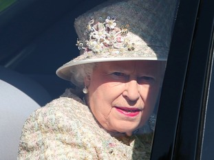 The Queen has been in Balmoral for her summer holidays.