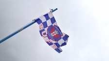 Carlisle fans are thought to have caused the damage.