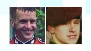 Corporal Russell Aston from Swadlincote in Derbyshire, seen below on the left, and Lance Corporal Tom Keys from Solihull