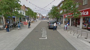 Pensioner dies after setting himself on fire in busy high street