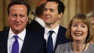 David Cameron's tribute to Harriet Harman as she prepares to stand down as acting Labour leader