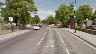 A street view of Marton Road where the attack took place.