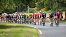 Riders reaching Amble today.