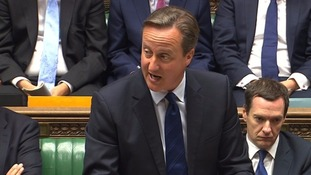 David Cameron said Britain must look after its own borders