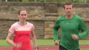 Laura Weightman and Steve Cram