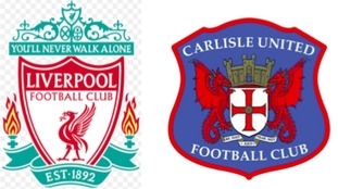 Carlisle face a tough test away at Anfield.