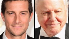 Bear Grylls says that David Attenborough's style is too dry for the younger generation