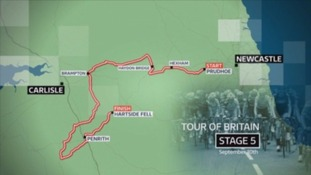 Stage Five of the Tour.
