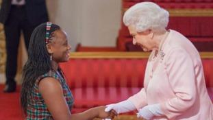 Caren Odanga the queen