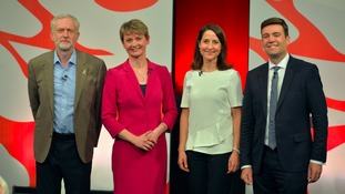The four candidates in the Labour leadership race