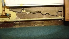 Serious damage to walls at Richard Lee Primary School in Coventry