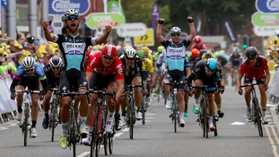 Fernando Gaviria won Stage Four