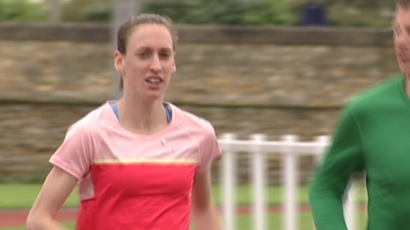 Laura Weightman training