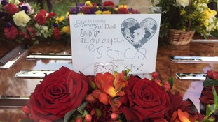 Daughters' heart-breaking messages of farewell to the Dad they lost on the racetrack
