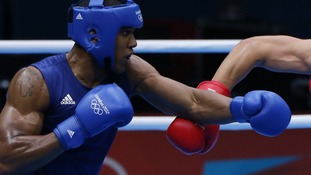Great Britain's Anthony Joshua,