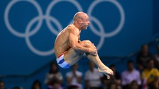 Pete Waterfield failed to make it through the first round in the Men's 10m Platform competition.