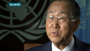 UN chief Ban Ki-moon tells ITV News: UK should do much more to help refugees