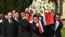 Justin Wilson funeral