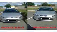 The images with the altered timestamps which were issued to Simone Riley-Young