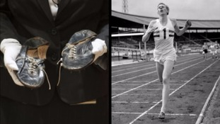 Sir Roger Bannister's four-minute mile running shoes sell for over £250,000
