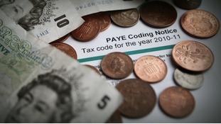 A PAYE Tax Code Notice