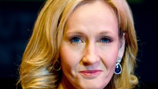 Harry Potter author J.K Rowling