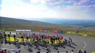 The Hartside ascent was the toughest part of the Stage.