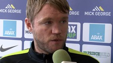 Grant McCann will take charge of Posh at Oldham tomorrow.