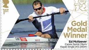 Team GB's Ed McKeever's won the Men's Canoe Sprint Kayak Single 200m