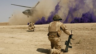 Afghanistan war, British soldiers praised